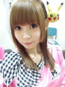 Shoko-Nakagawa-with-rat-Pikachu