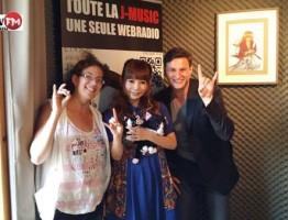 San, Shokotan et Kai à JapanFM