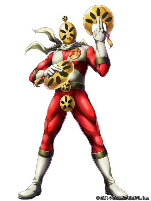 Sukashipa Man, héro créé par Shoko sera aussi de la partie